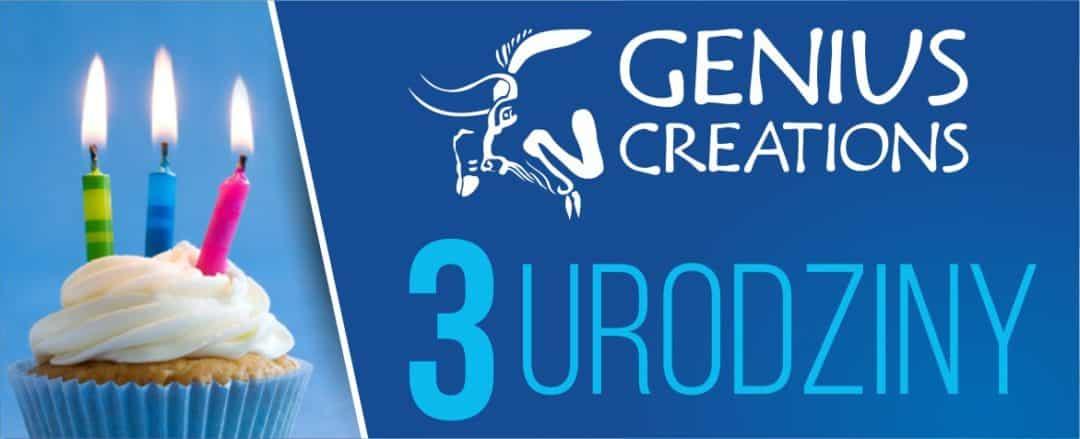 Genius Creations - 3 urodziny
