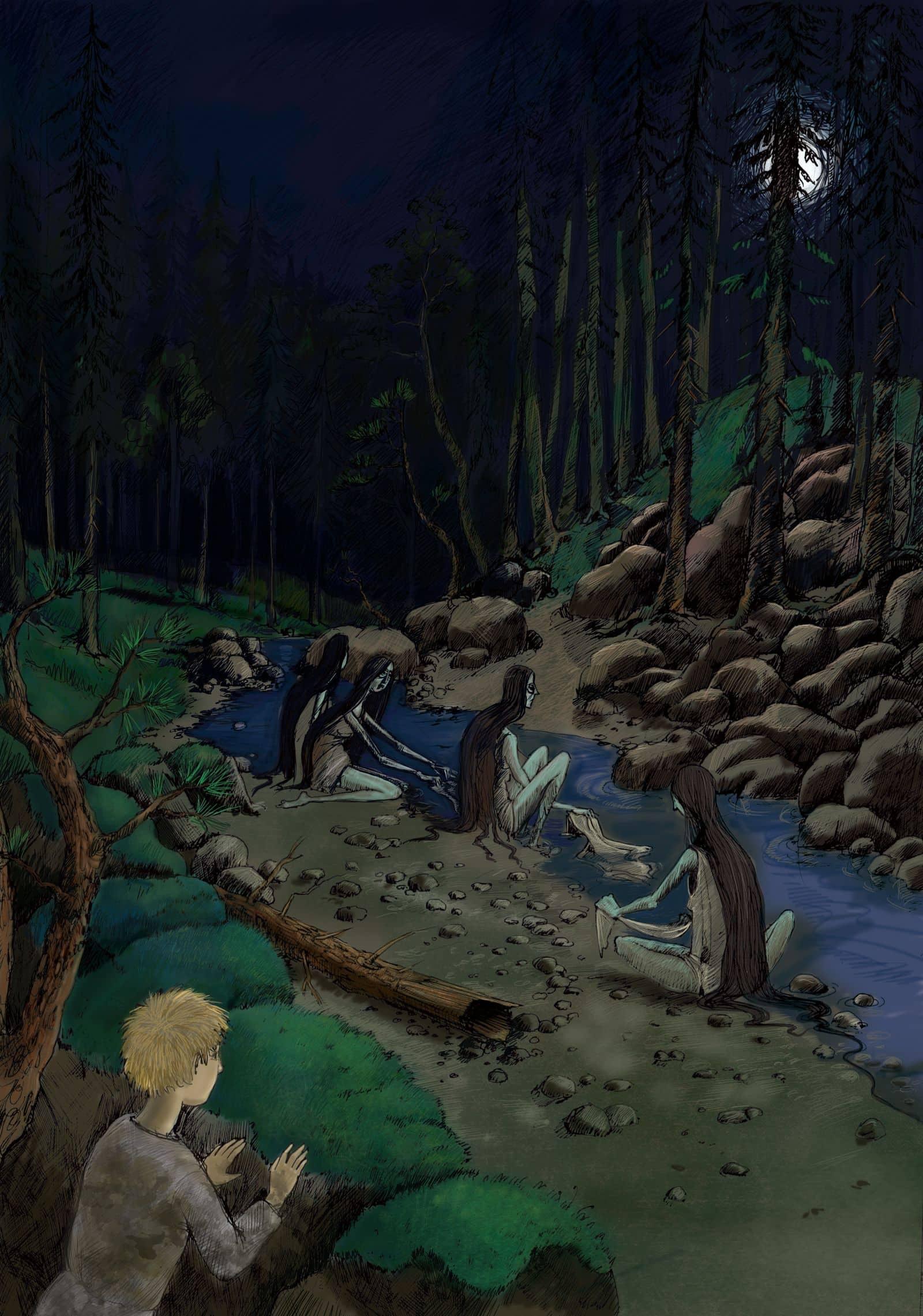 Noc między Tam i Tu - Marta Krajewska - mamuny nad brzegiem