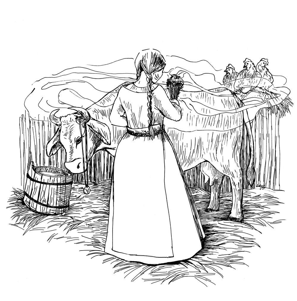 Świt midzy dobrym i złym - ilustracja 01
