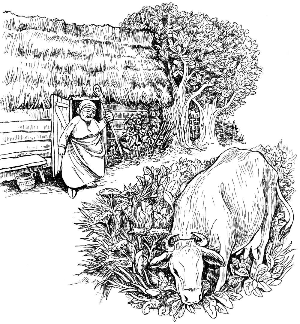 Świt midzy dobrym i złym - ilustracja 09