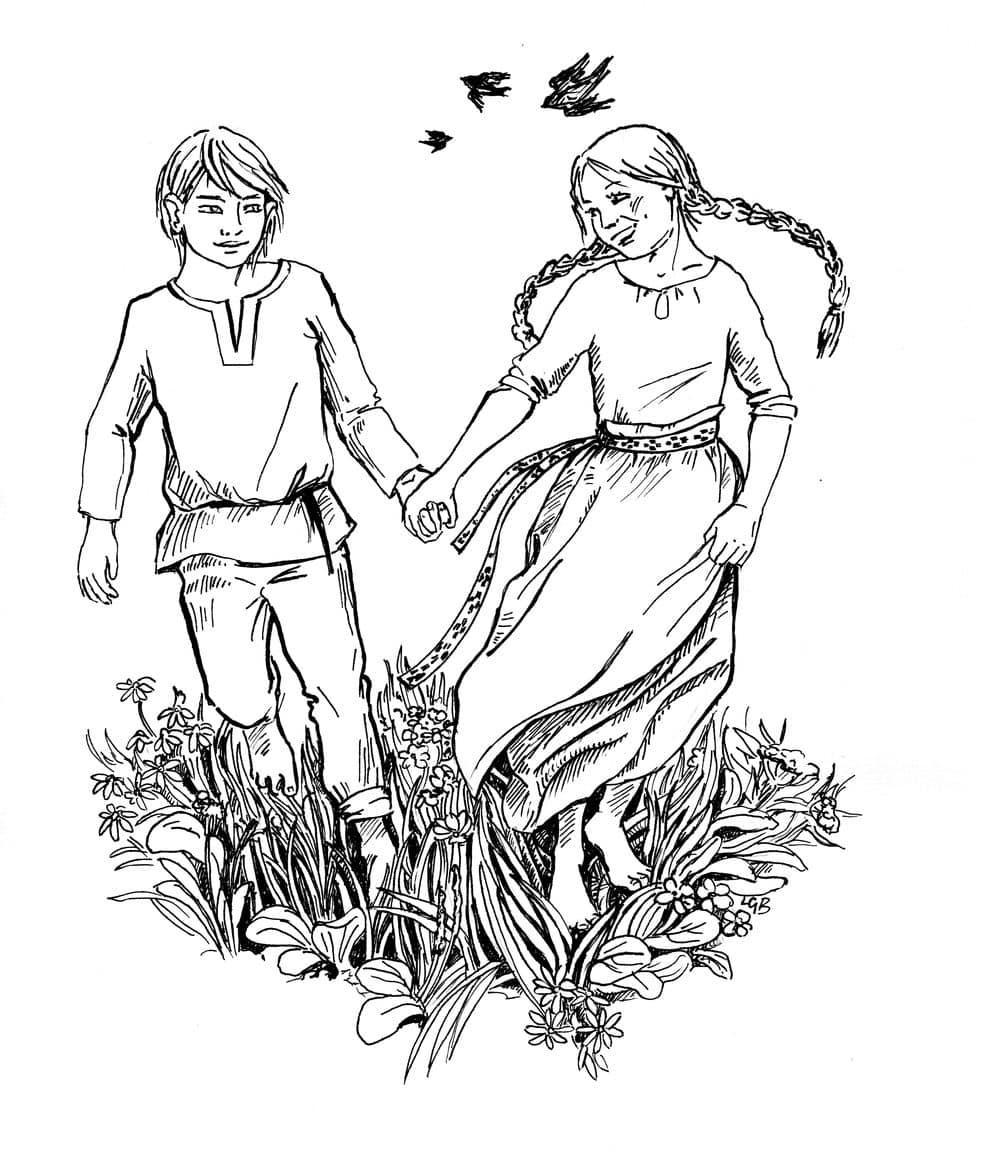 Świt midzy dobrym i złym - ilustracja 11